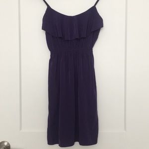 Soprano purple dress